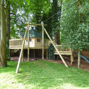 Tree-House-and-Zip-Wire
